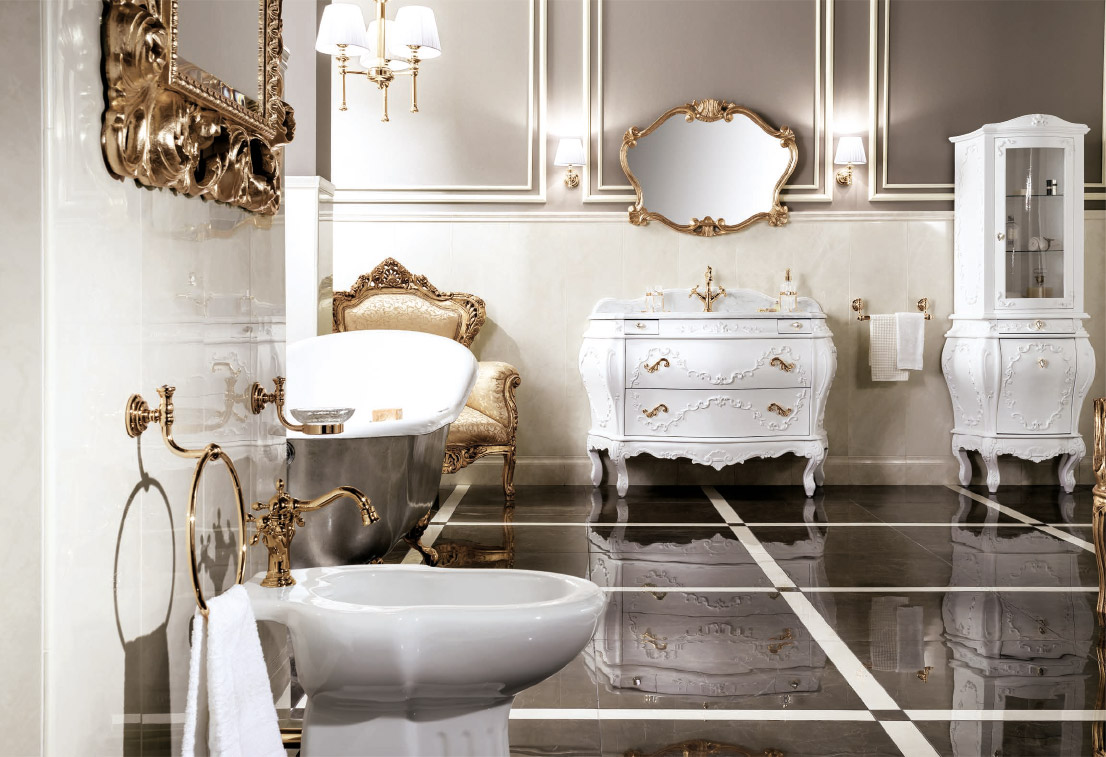 Collezione arredamento bagno di lusso c 39 era una volta il - Arredo bagno lusso ...