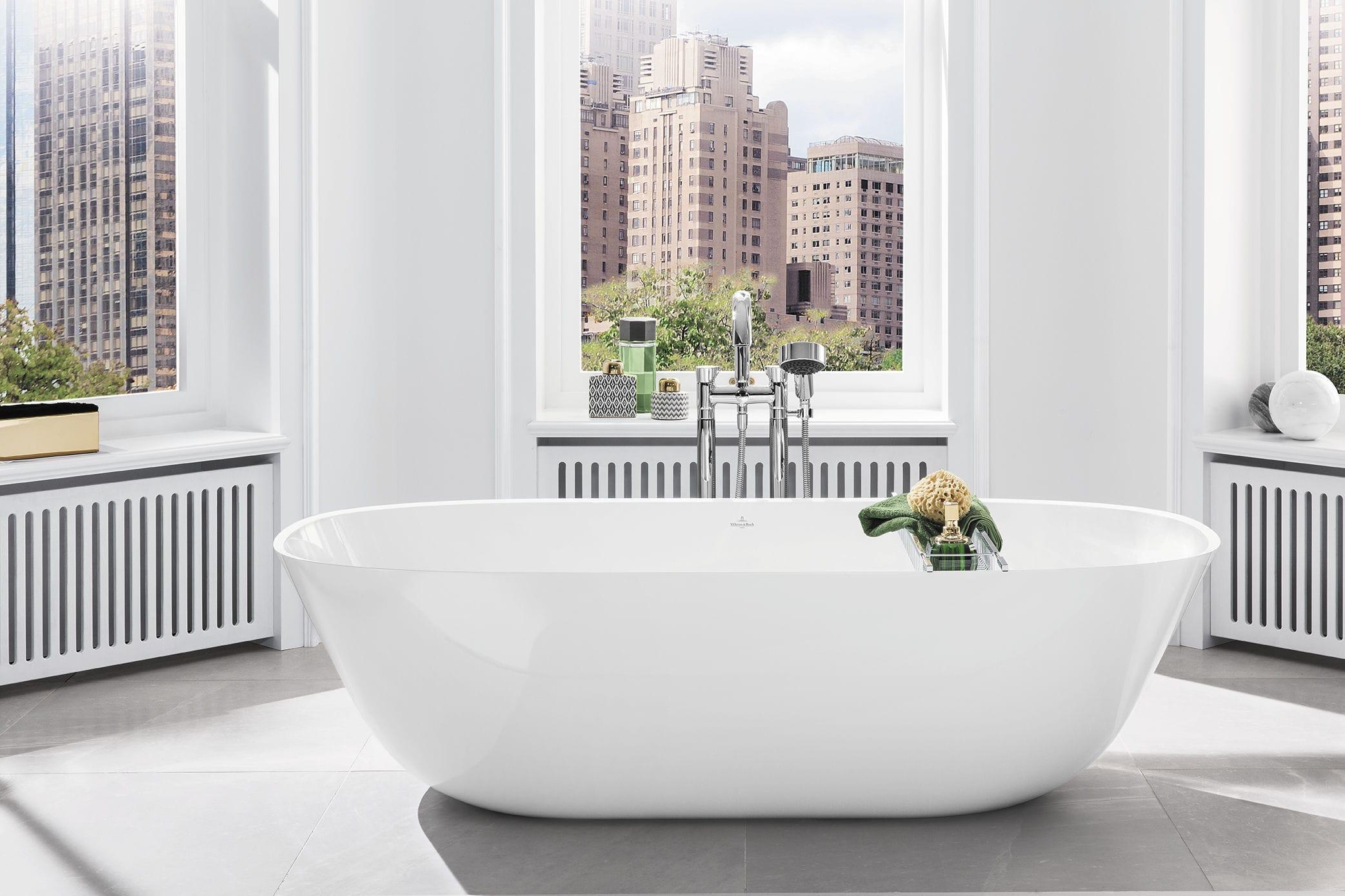 Bagno moderno - in ceramica, in marmo, in acciaio inossidabile - ANTHEUS 2
