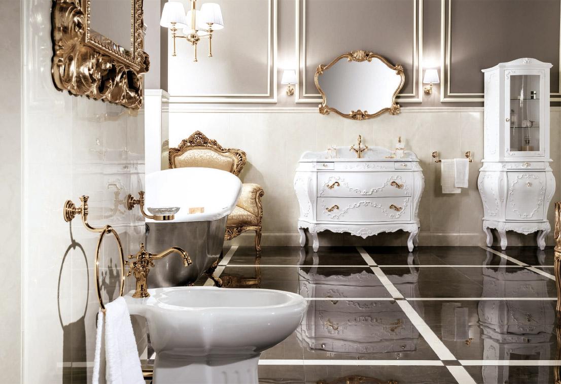 Collezione arredamento bagno di lusso c 39 era una volta il - Arredamento da bagno ...
