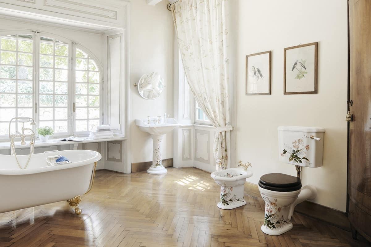 Collezione arredamento bagno classico c 39 era una volta il for Rivestimenti bagno classici