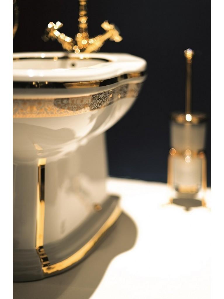 Bidet e accessori - decori, rubinetterie oro