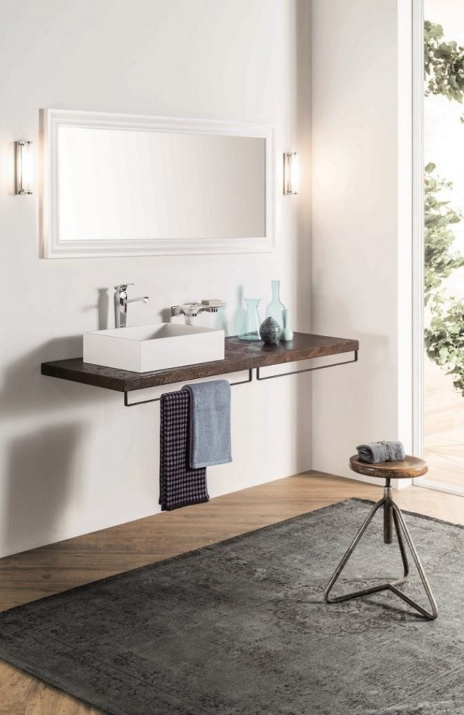 Bagno moderno Ruggine - or-ten lacquered matt